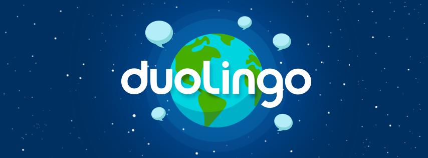 Marca do aplicativo Duolingo