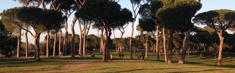 Parque em Roma