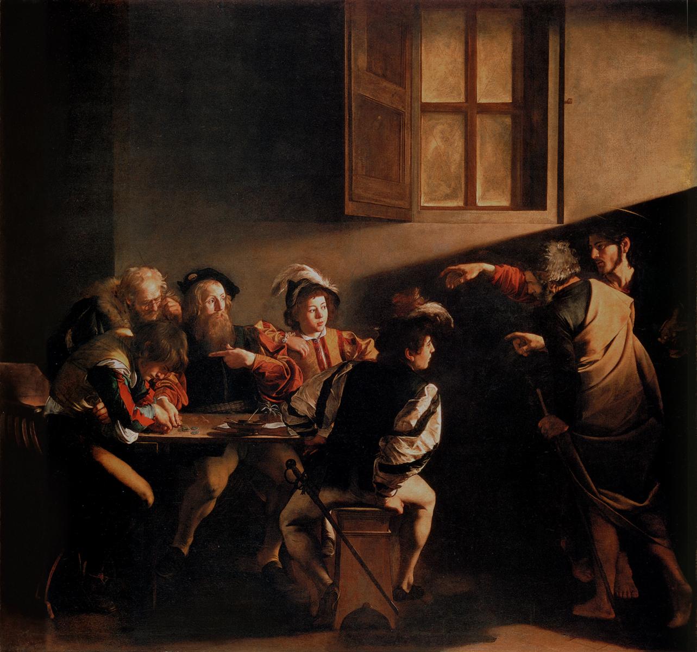 A Vocação de São Mateus - detto Caravaggio